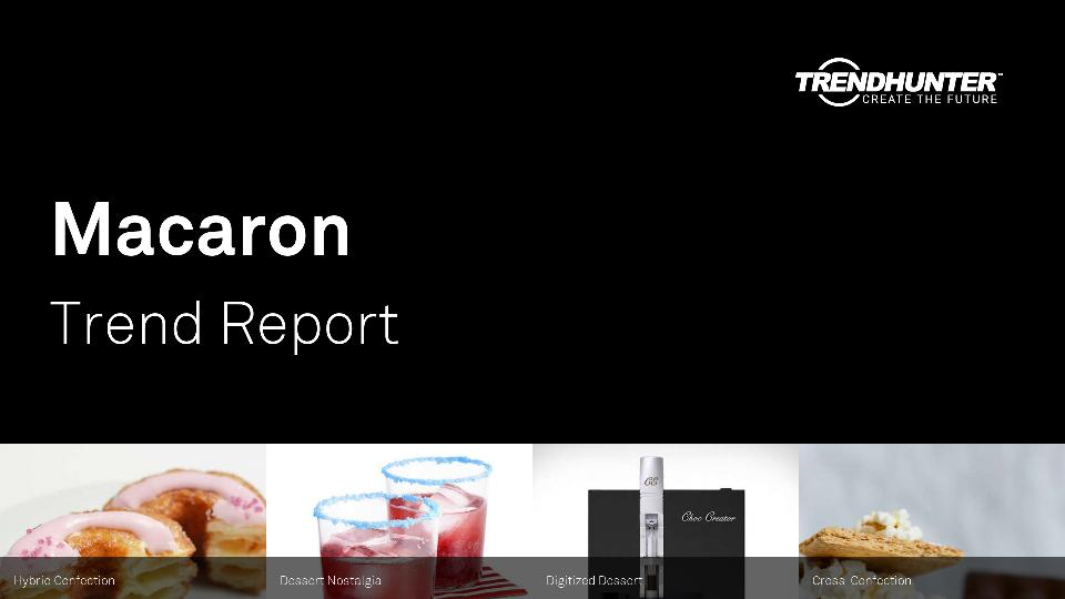 Macaron Trend Report Research