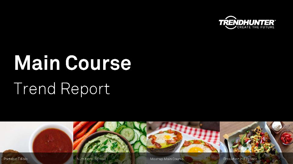 Main Course Trend Report Research