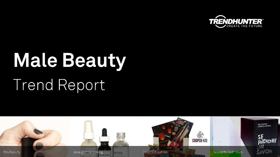 Male Beauty Trend Report Research