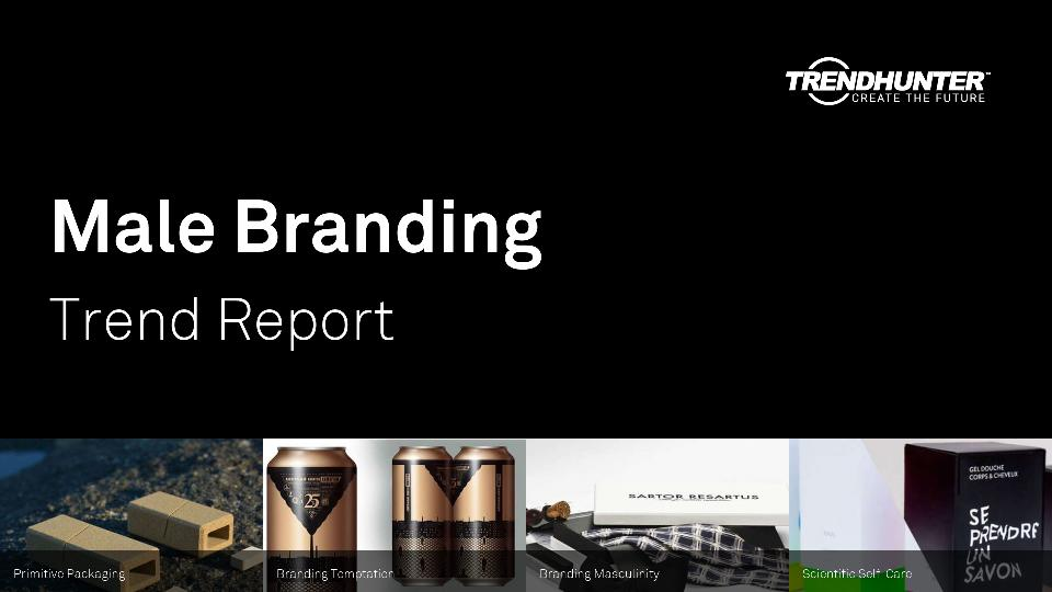 Male Branding Trend Report Research