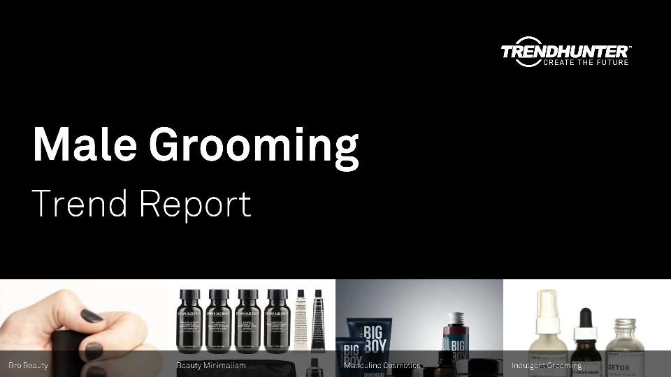 Male Grooming Trend Report Research