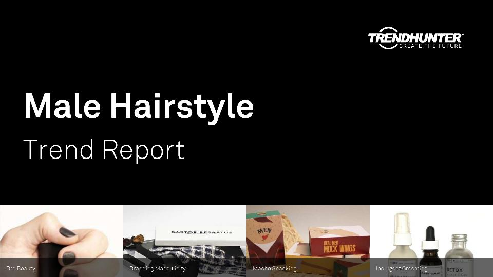 Male Hairstyle Trend Report Research