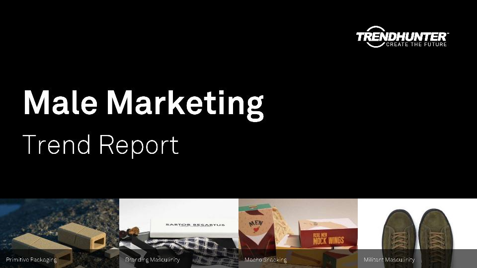 Male Marketing Trend Report Research