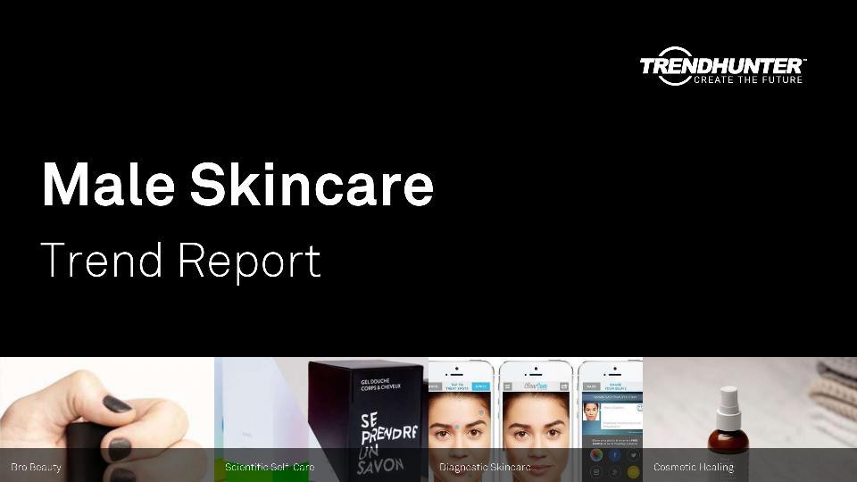 Male Skincare Trend Report Research