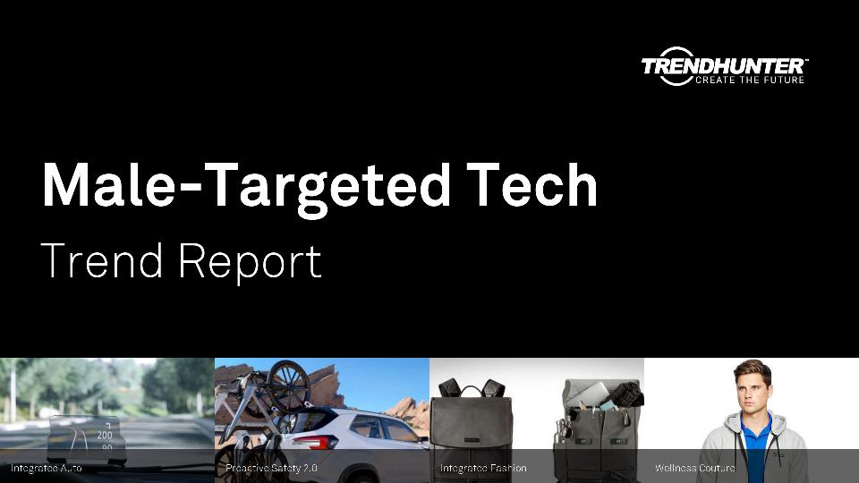 Male-Targeted Tech Trend Report Research