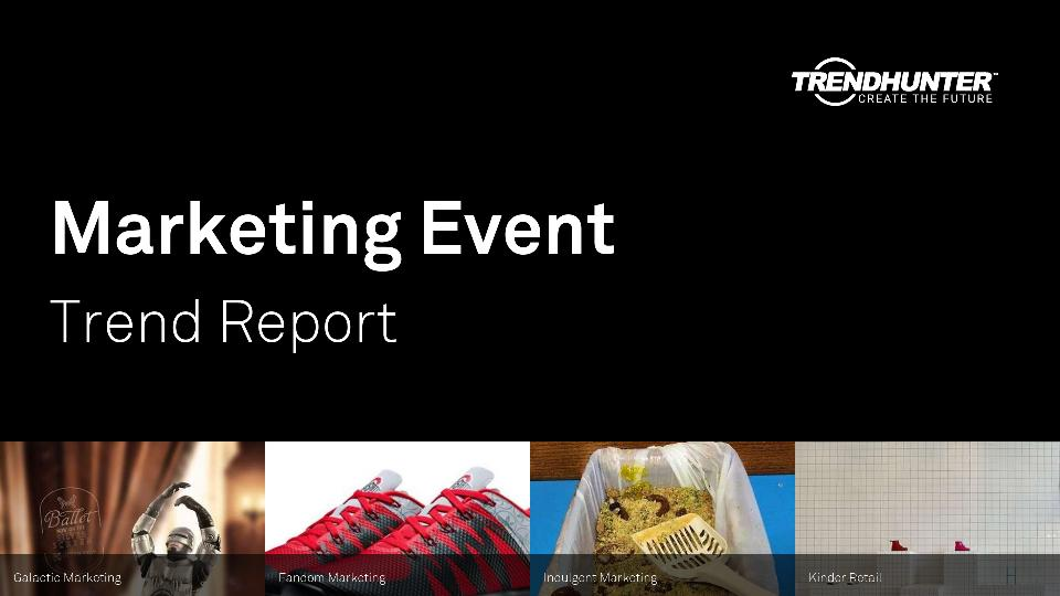 Marketing Event Trend Report Research