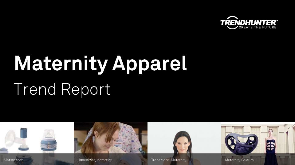 Maternity Apparel Trend Report Research