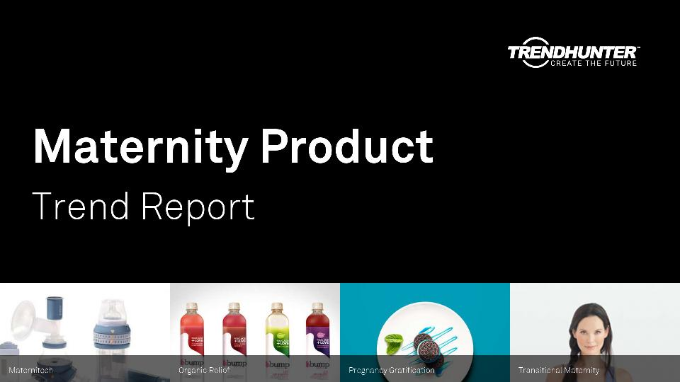 Maternity Product Trend Report Research