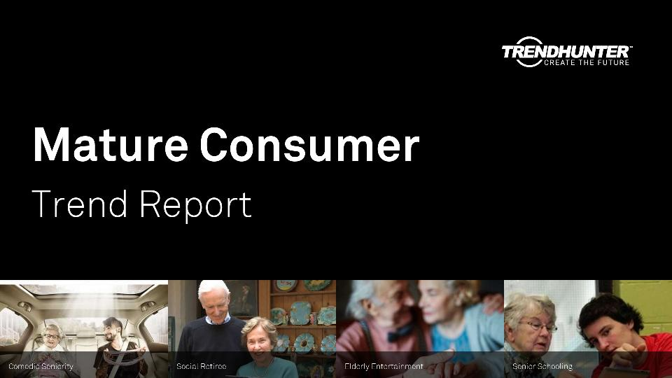 Mature Consumer Trend Report Research