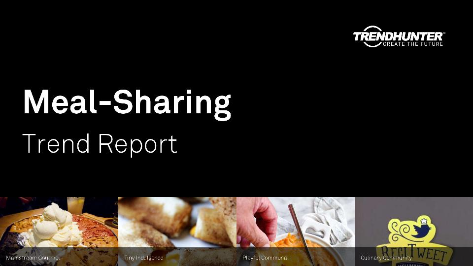 Meal-Sharing Trend Report Research