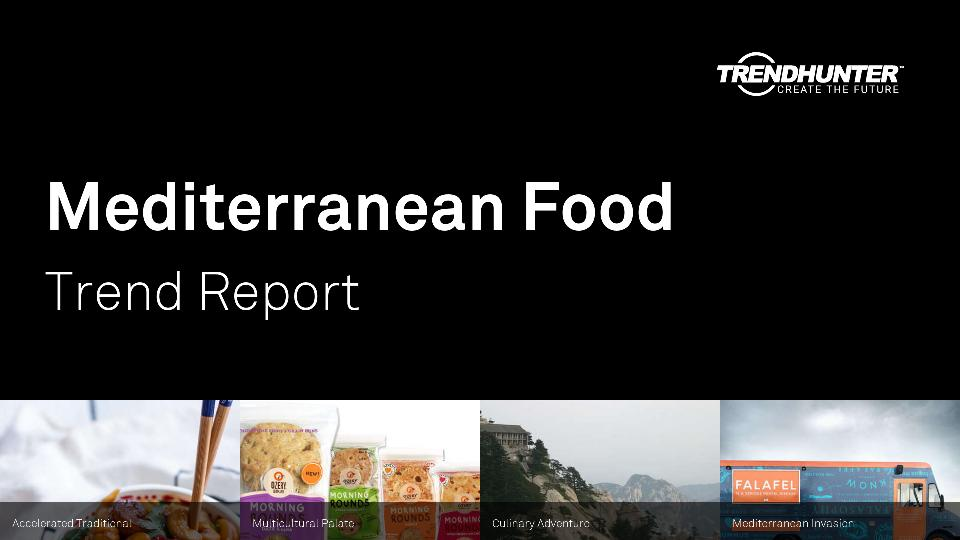 Mediterranean Food Trend Report Research