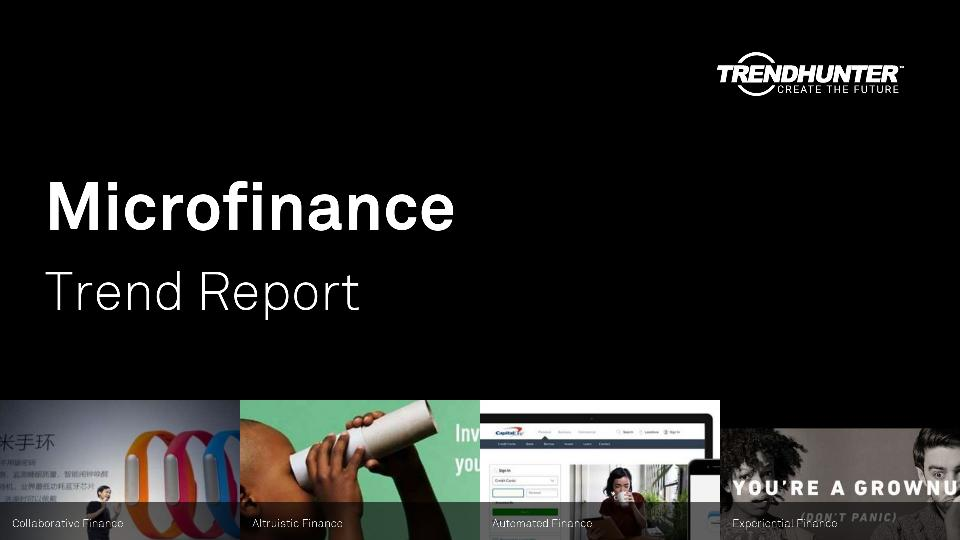Microfinance Trend Report Research
