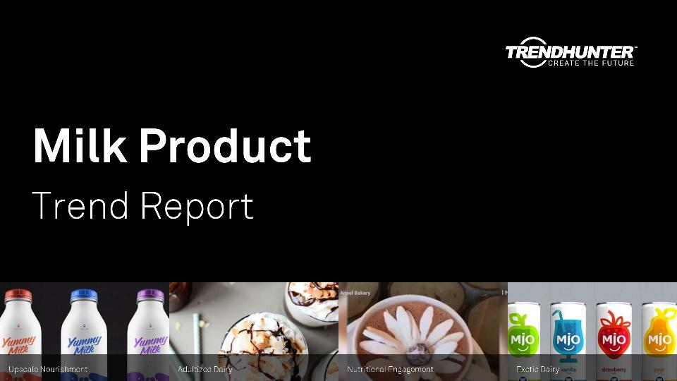 Milk Product Trend Report Research
