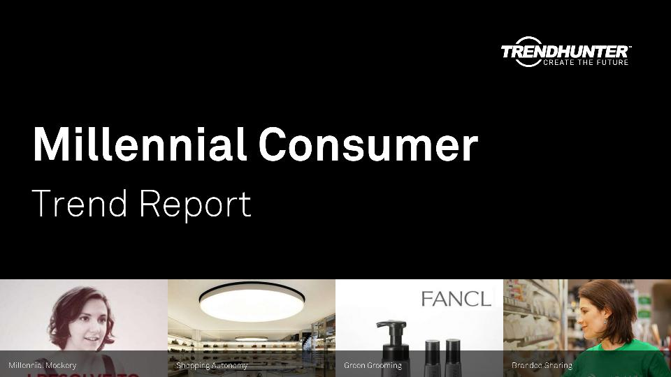 Millennial Consumer Trend Report Research