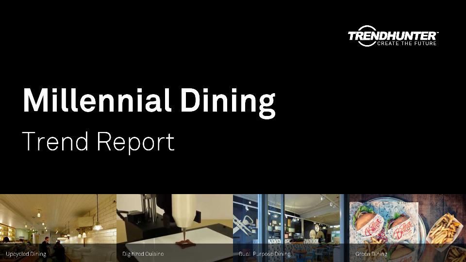 Millennial Dining Trend Report Research
