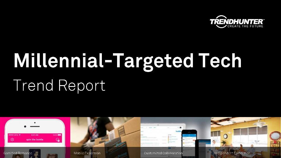 Millennial-Targeted Tech Trend Report Research