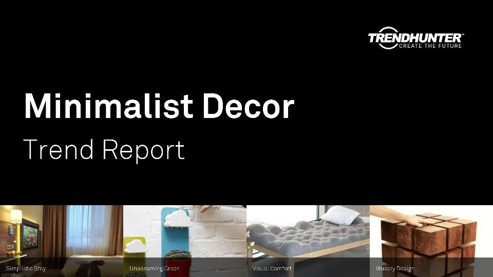 Minimalist Decor Trend Report Research