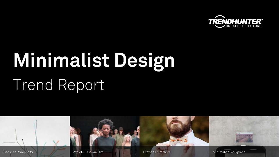 Minimalist Design Trend Report Research