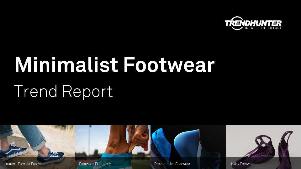 Minimalist Footwear Trend Report Research