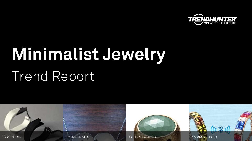 Minimalist Jewelry Trend Report Research