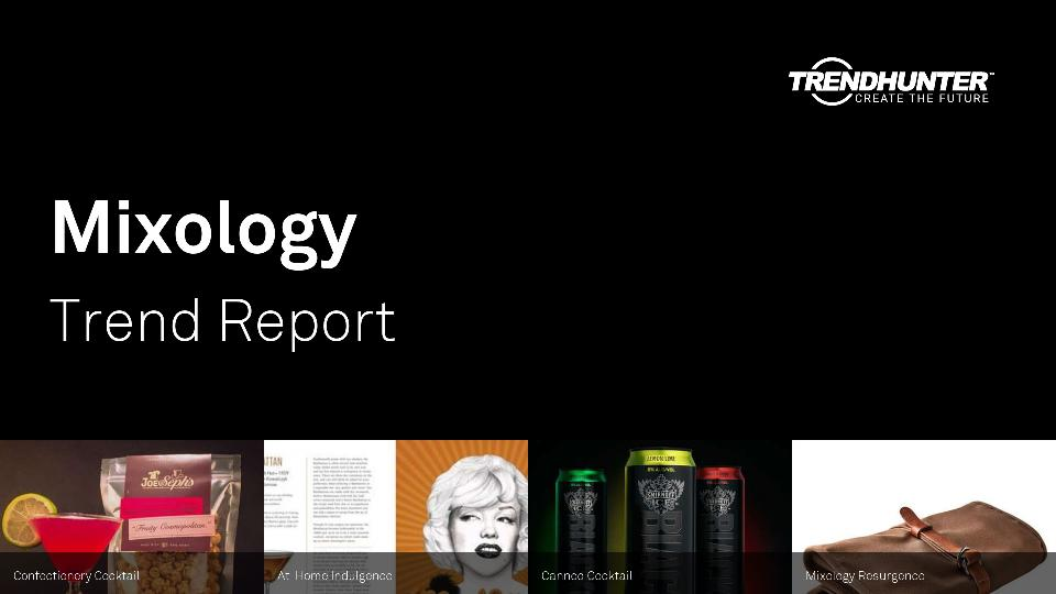 Mixology Trend Report Research