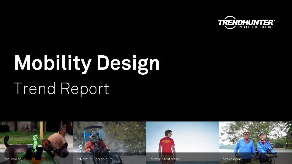Mobility Design Trend Report Research