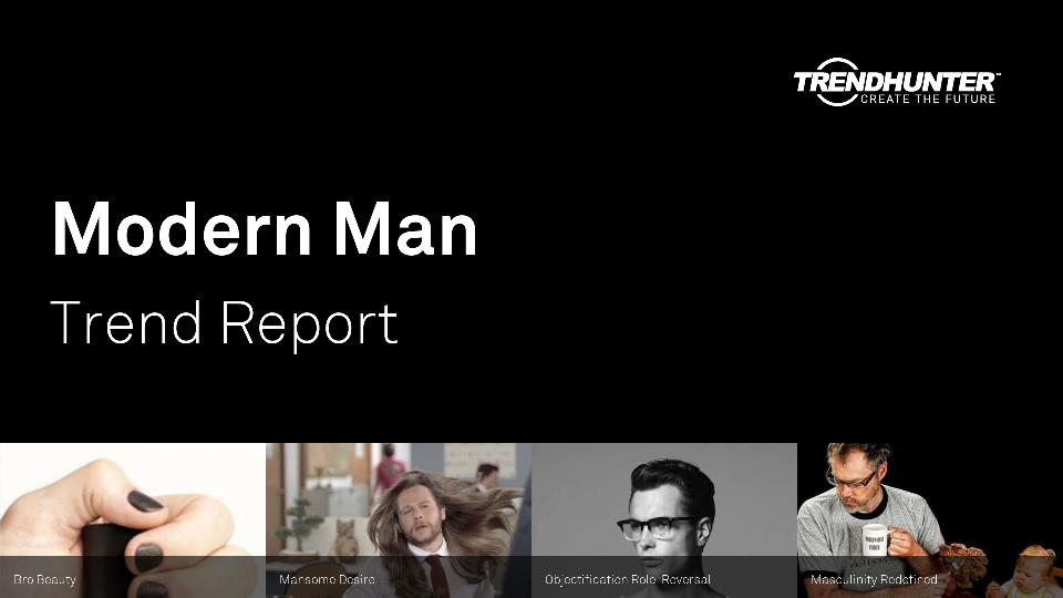 Modern Man Trend Report Research