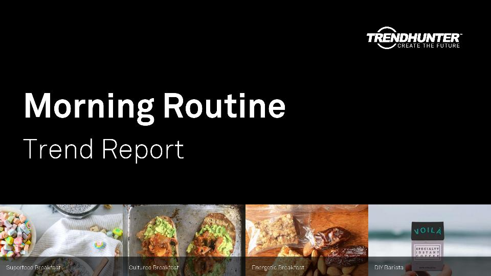 Morning Routine Trend Report Research