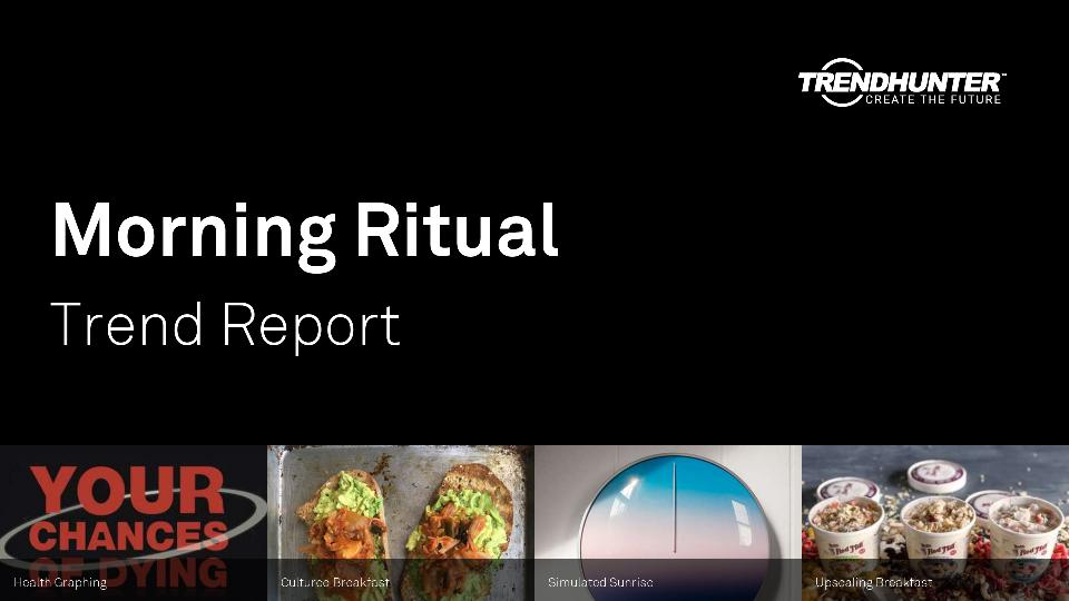 Morning Ritual Trend Report Research