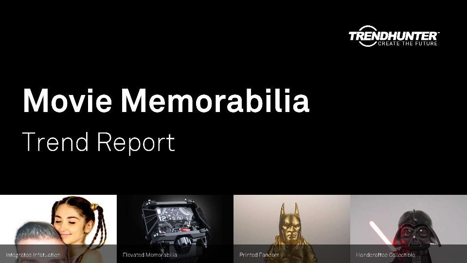 Movie Memorabilia Trend Report Research