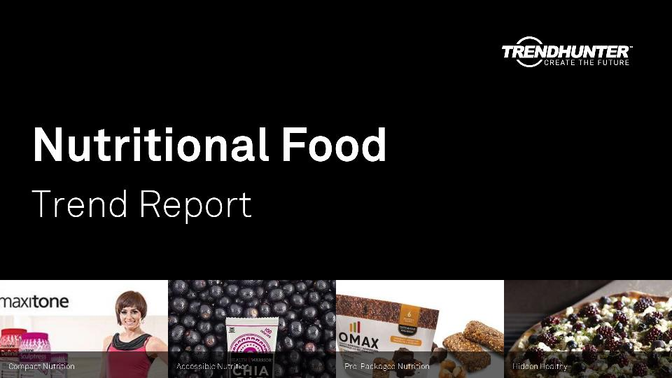 Nutritional Food Trend Report Research