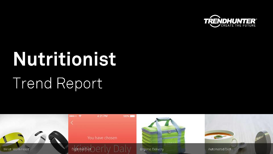 Nutritionist Trend Report Research