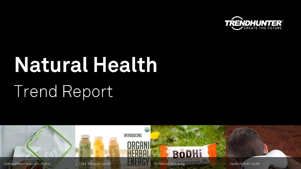 Natural Health Trend Report Research