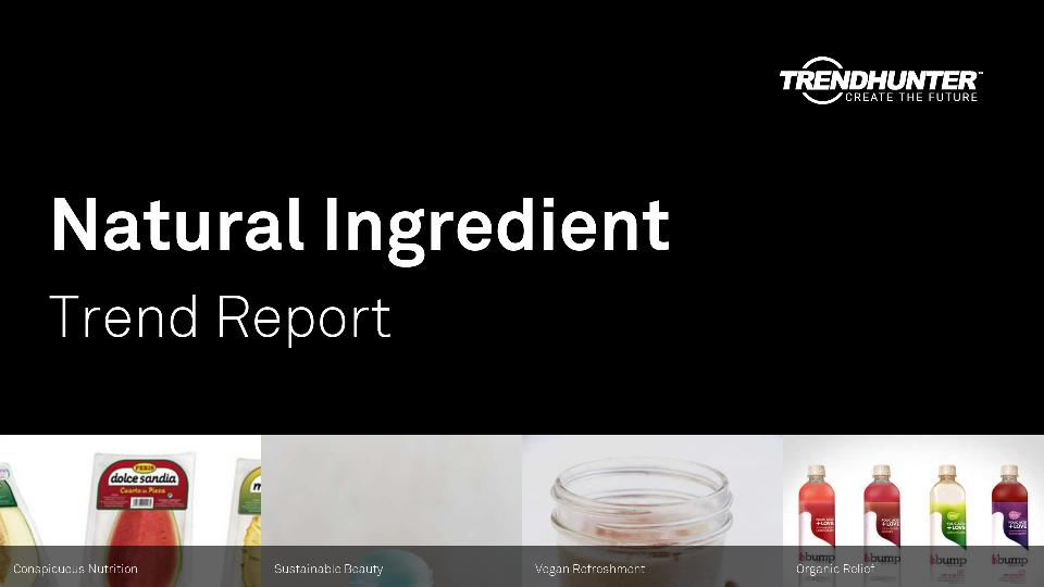 Natural Ingredient Trend Report Research