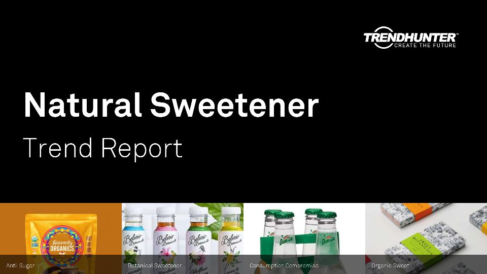Natural Sweetener Trend Report Research