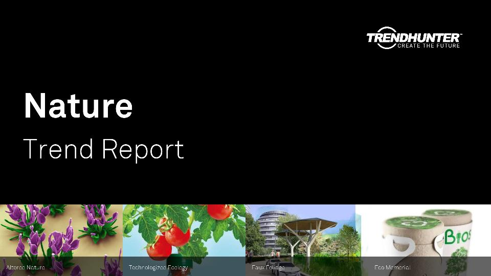 Nature Trend Report Research