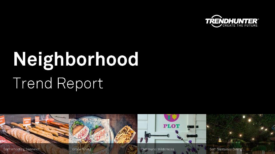 Neighborhood Trend Report Research