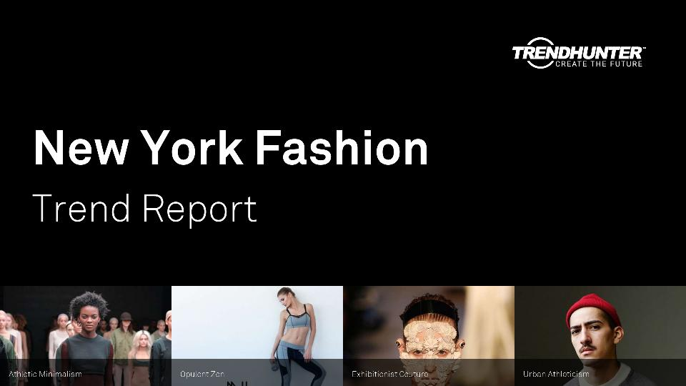 New York Fashion Trend Report Research