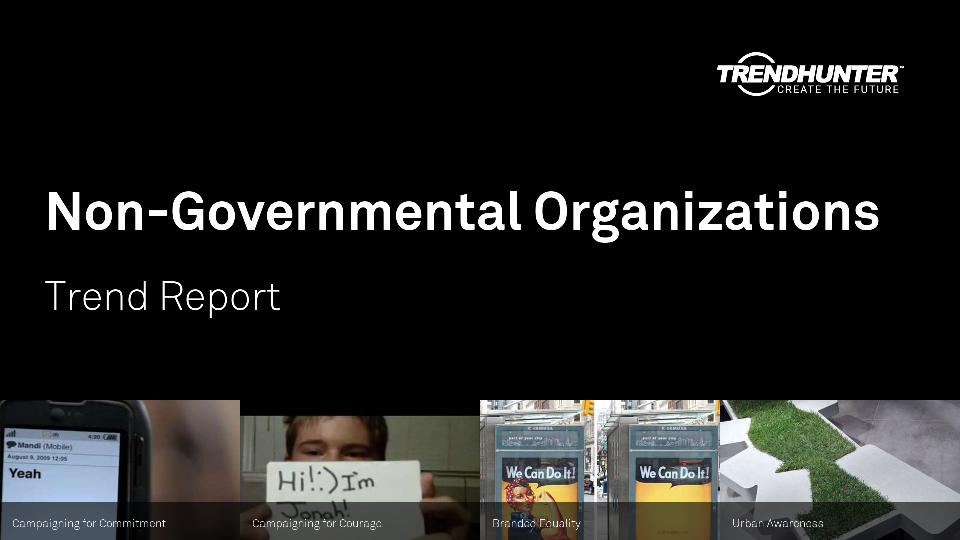 Non-Governmental Organizations Trend Report Research