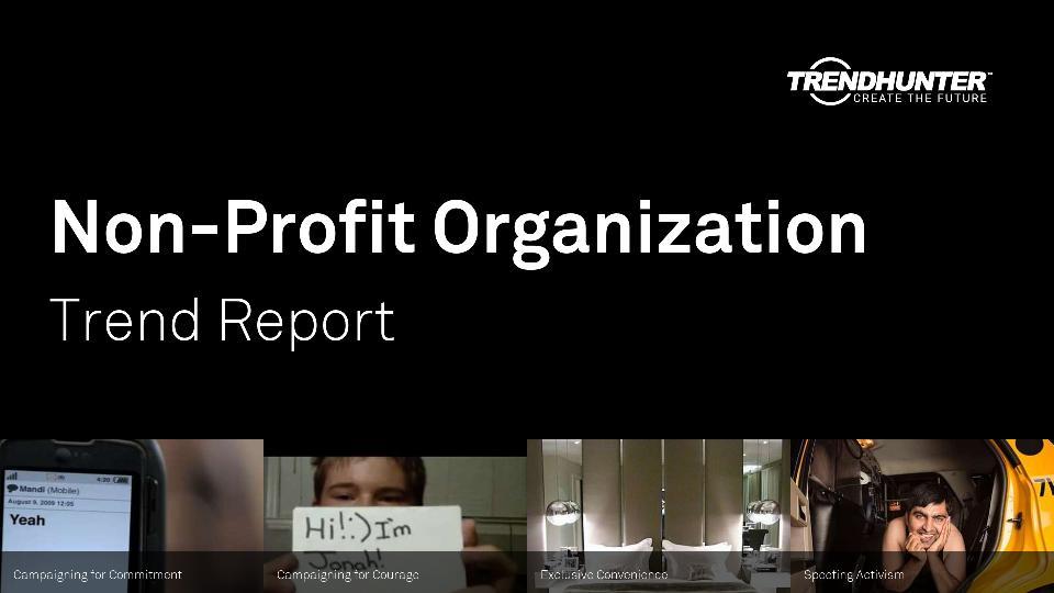 Non-Profit Organization Trend Report Research