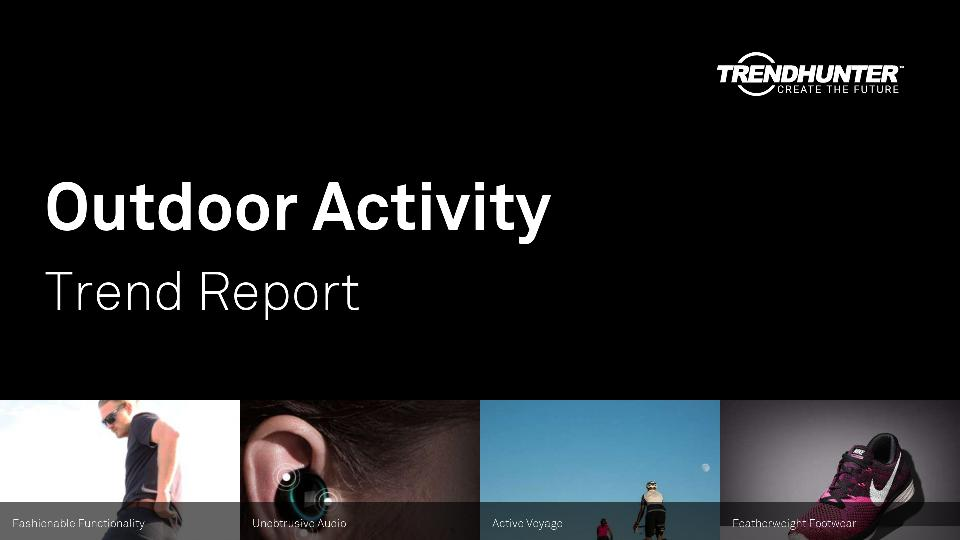 Outdoor Activity Trend Report Research