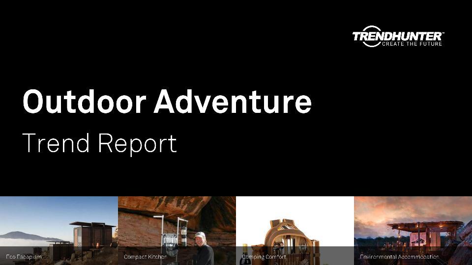 Outdoor Adventure Trend Report Research