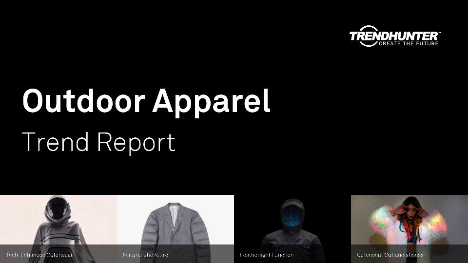 Outdoor Apparel Trend Report Research