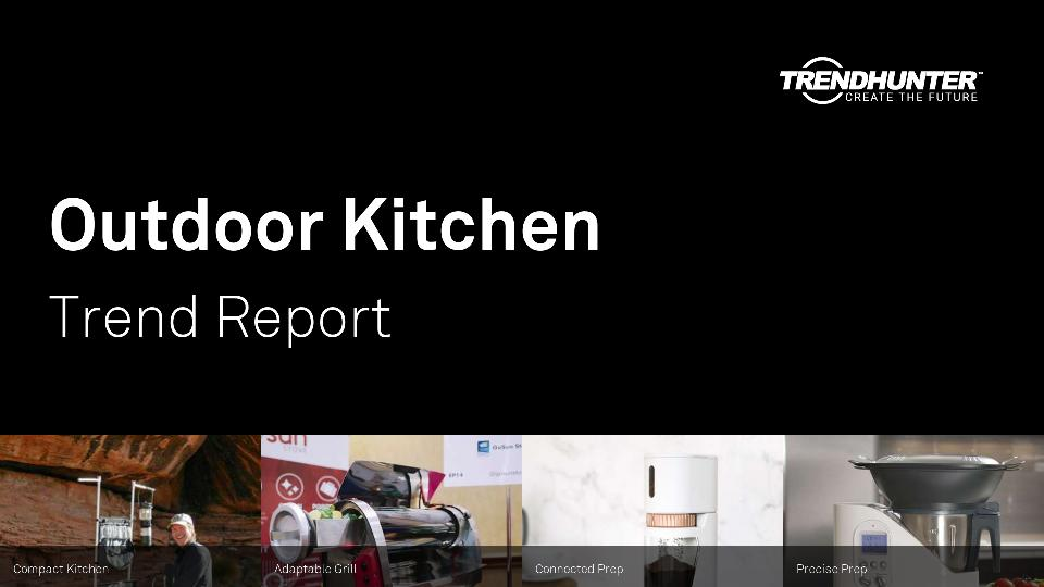 Outdoor Kitchen Trend Report Research