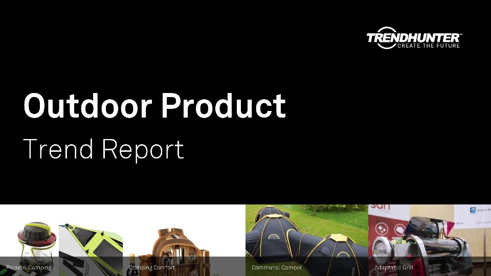 Outdoor Product Trend Report Research