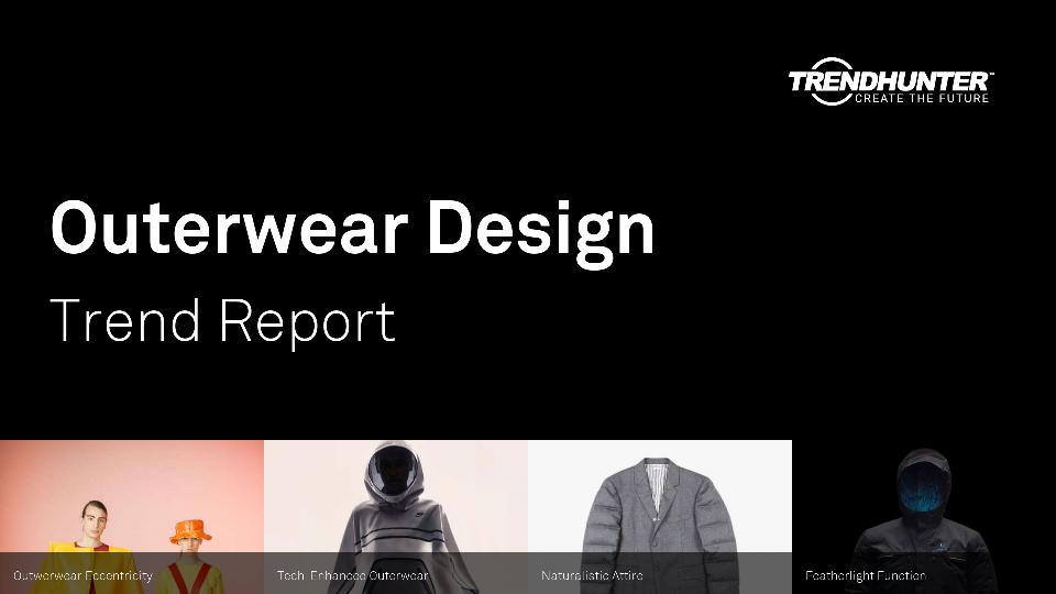 Outerwear Design Trend Report Research