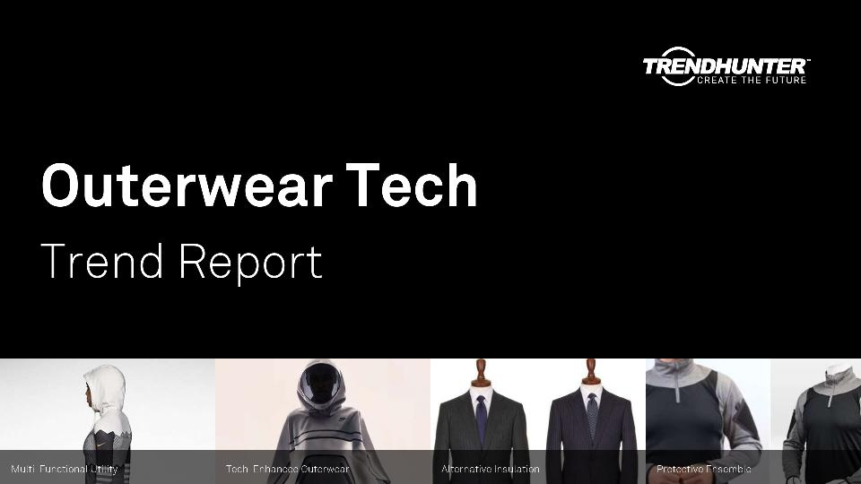 Outerwear Tech Trend Report Research