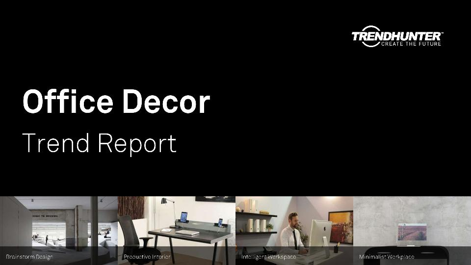 Office Decor Trend Report Research