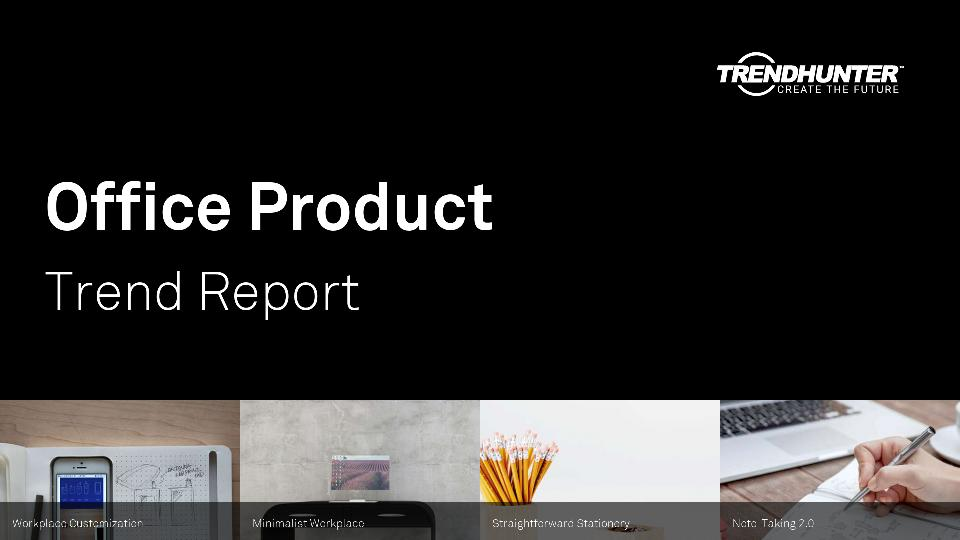 Office Product Trend Report Research