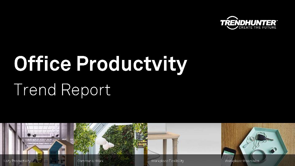 Office Productvity Trend Report Research